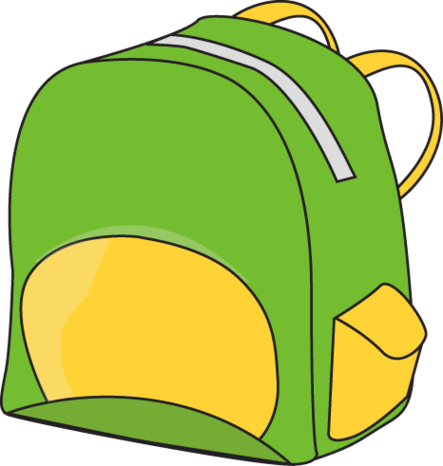 443x466 Backpack Images Of School Supplies Free Download Clip Art