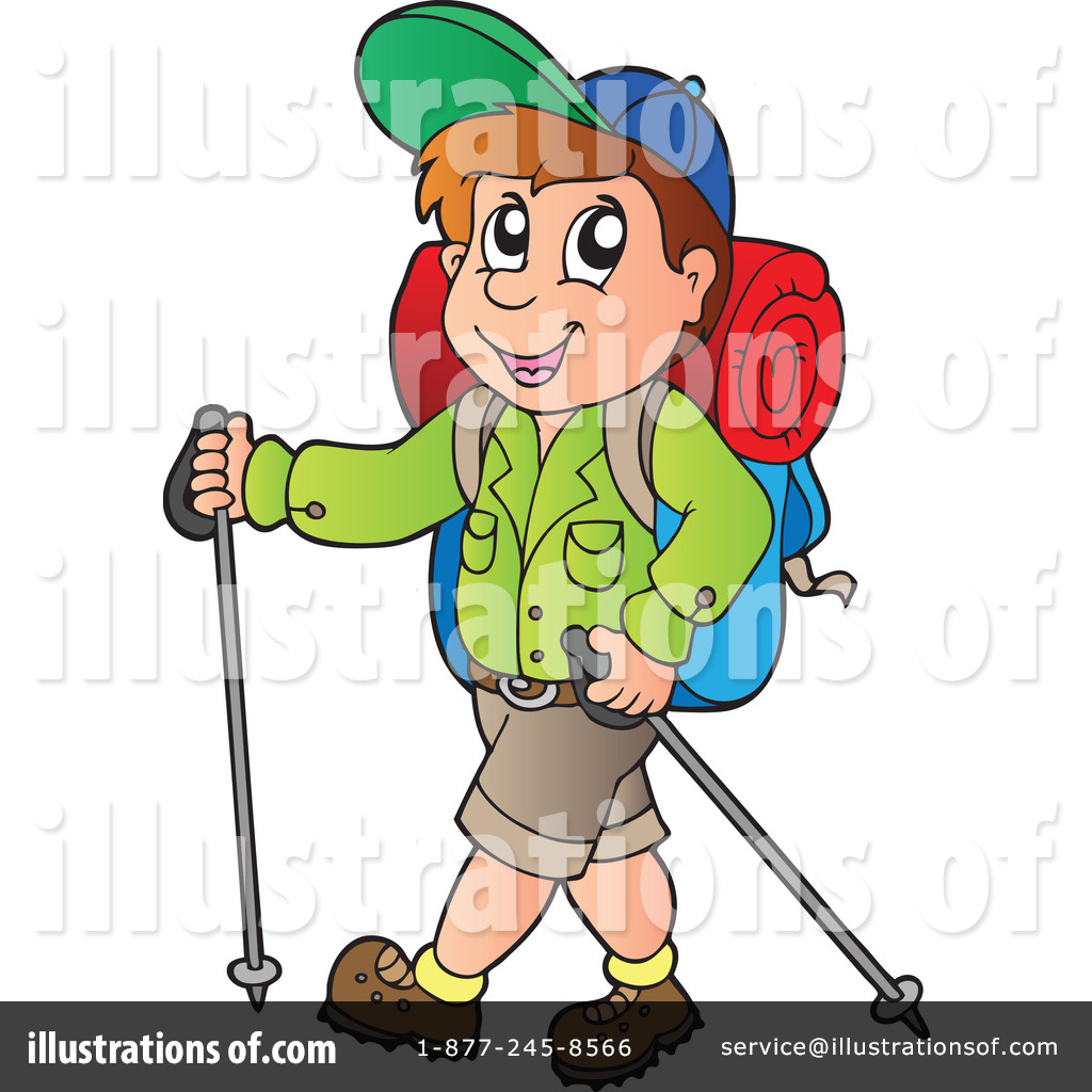1024x1024 Hiking Clipart