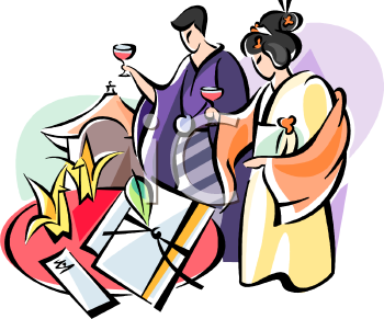 350x291 Royalty Free Japanese Clip Art, People Clipart