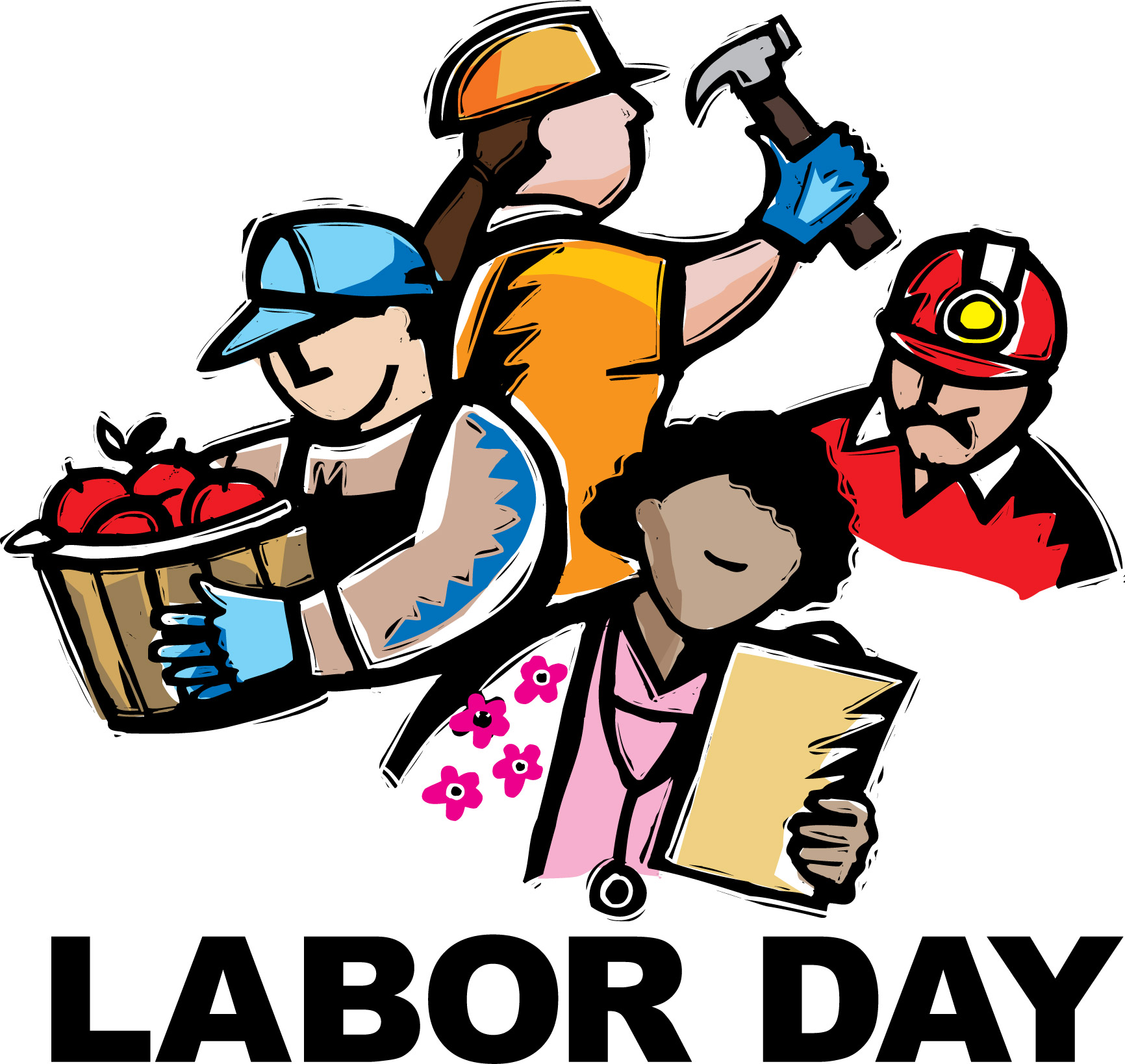 1732x1638 September Labor Day Calendar Clipart