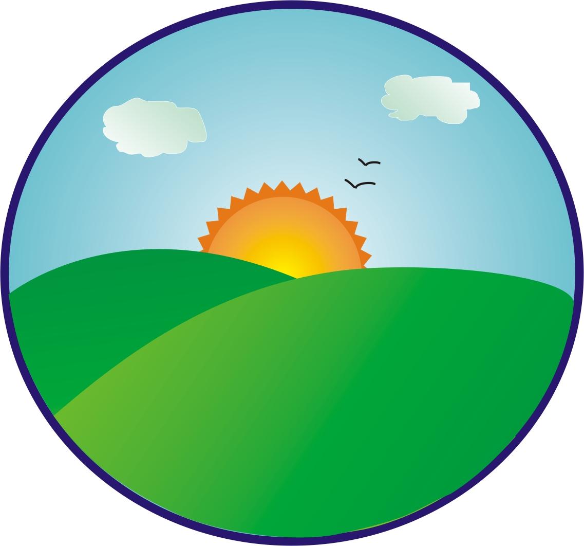1137x1062 Hill Clipart Sunrise Beach