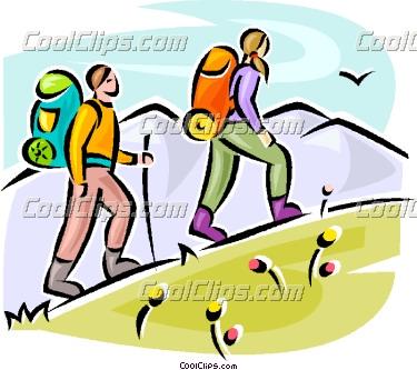375x333 Climbing A Hill Clipart