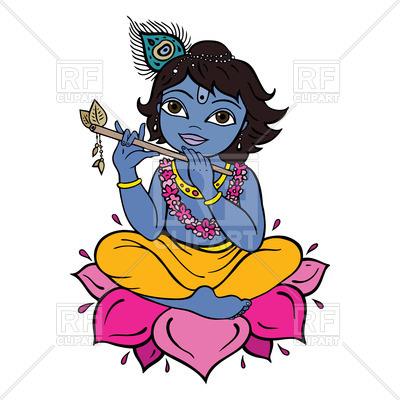 400x400 Hindu God Krishna