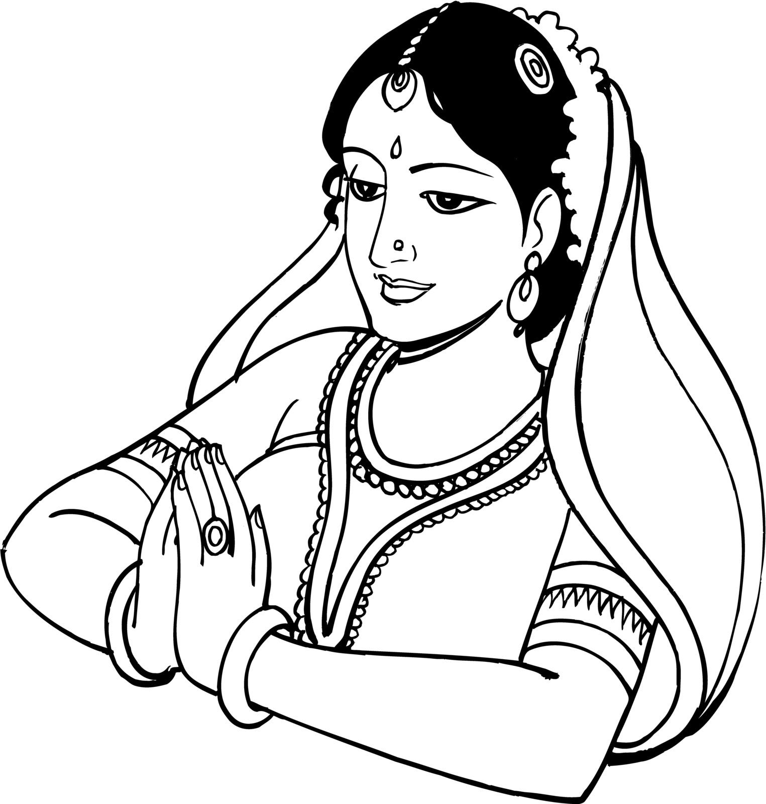 1525x1600 Hindu Clip Art Clipart