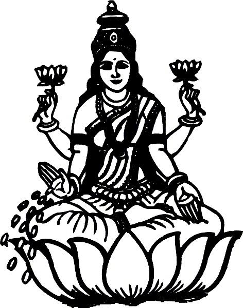 472x600 Hindu Clipart Devi