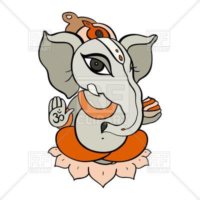 400x400 Cartoon Hindu God