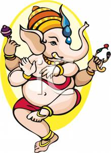 219x300 Dancing Hindu God Of Success Clip Art Image
