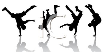 350x175 Free Break Dancing Clipart