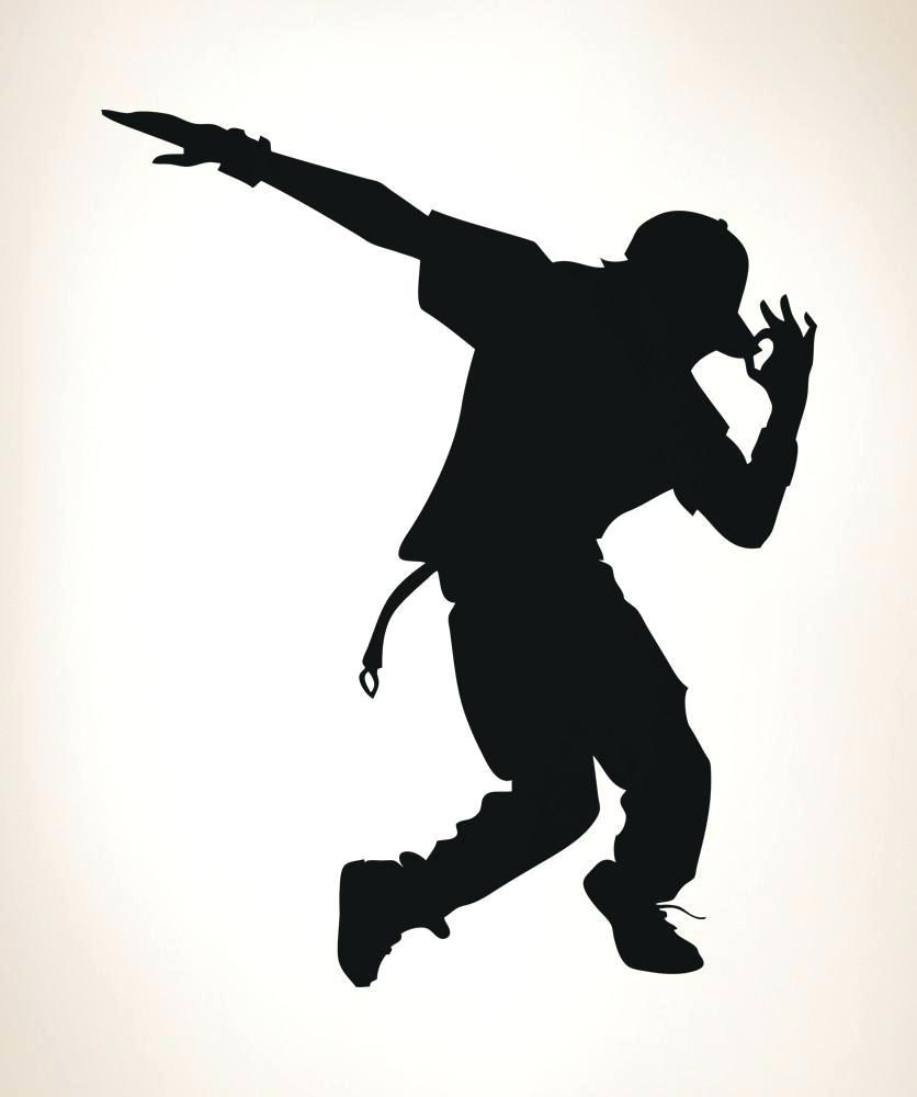 836x1000 Dancer Silhouette Wall Decals Cabaret Dancer Clip Art Different