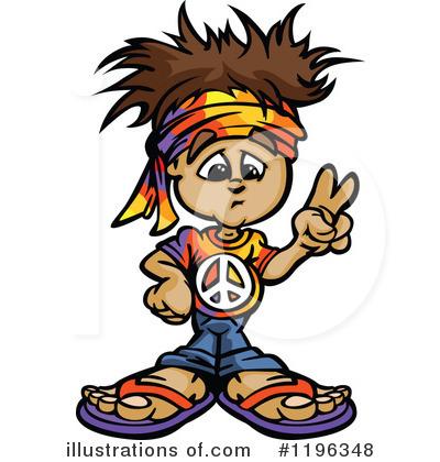 400x420 Hippie Clipart