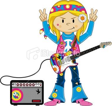380x357 Hippie Clipart Animated