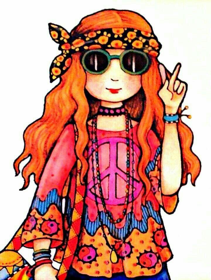 720x955 Hippie Clipart Fashion