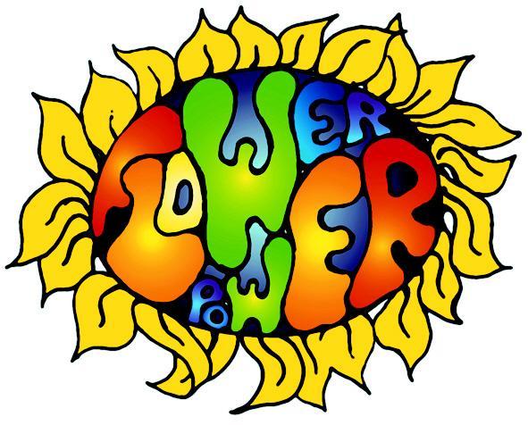 591x476 Hippie Clipart Yellow Flower
