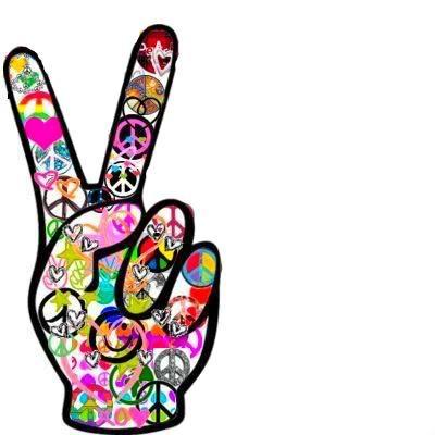 400x400 Peace Sign Clipart Hippie