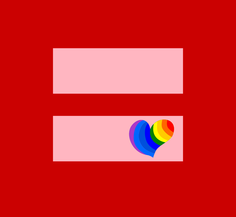 999x921 Clip Art Hippie Heart Marriage Equality I