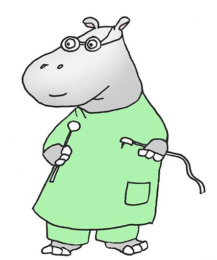 443x531 hippo cartoons hippopotamus dentist clip art Hippo pictures