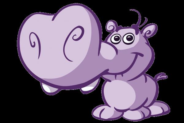 600x400 Cartoon hippo clipart clipartme