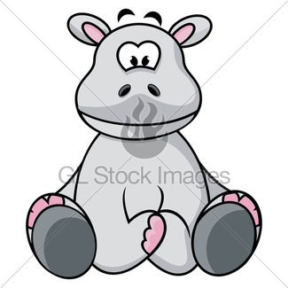 325x325 Cute Hippo · GL Stock Images