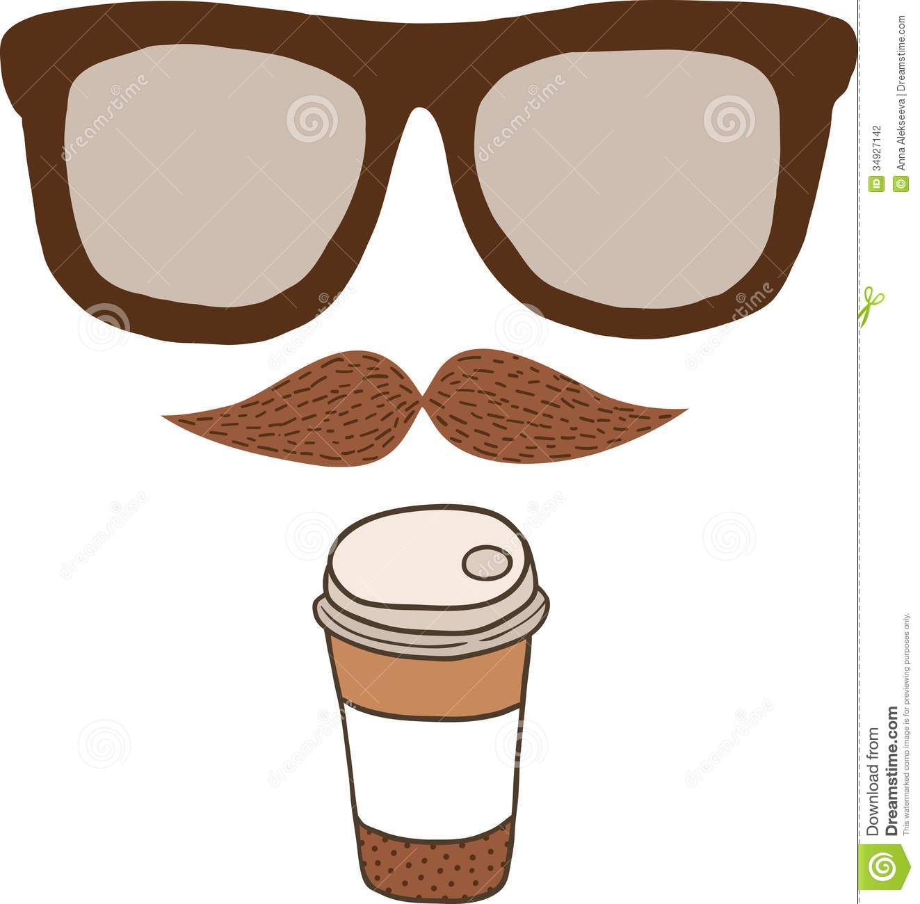 1323x1300 Hipster Clipart
