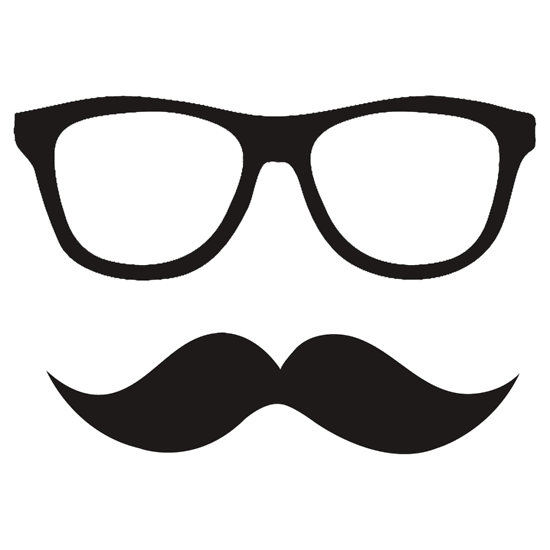 550x550 Hipster Clipart Hipster Glass