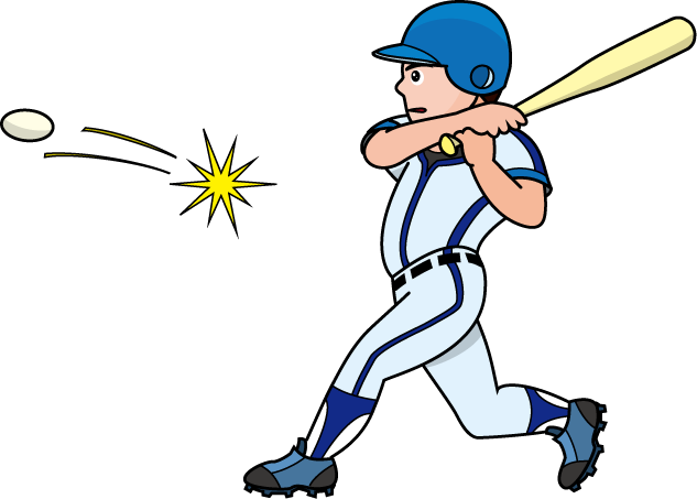 633x453 Baseball Clipart Baseball Hit