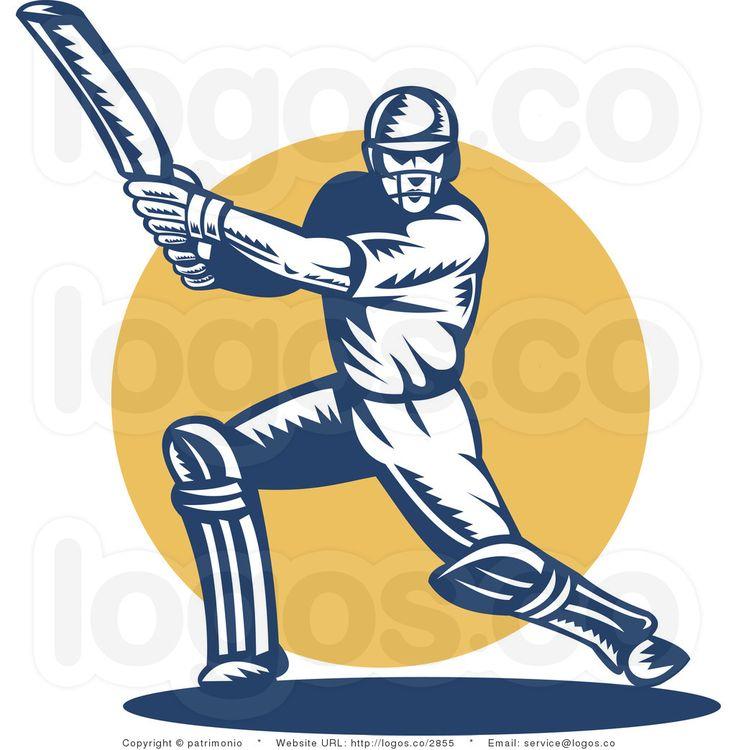 736x750 Top 68 Cricket Clip Art