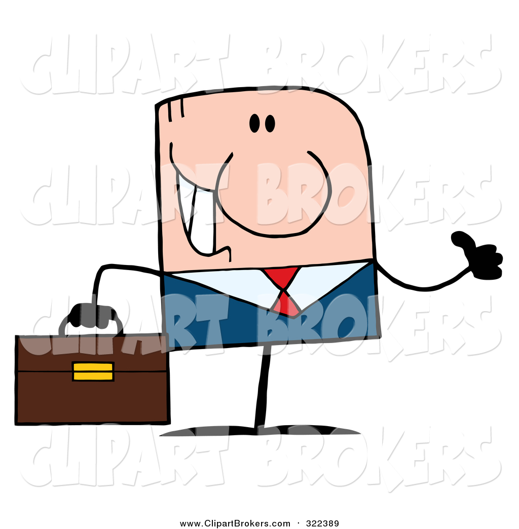 1024x1044 Clip Art Cartoon Of A Thumbs Up White Businessman By Hit Toon