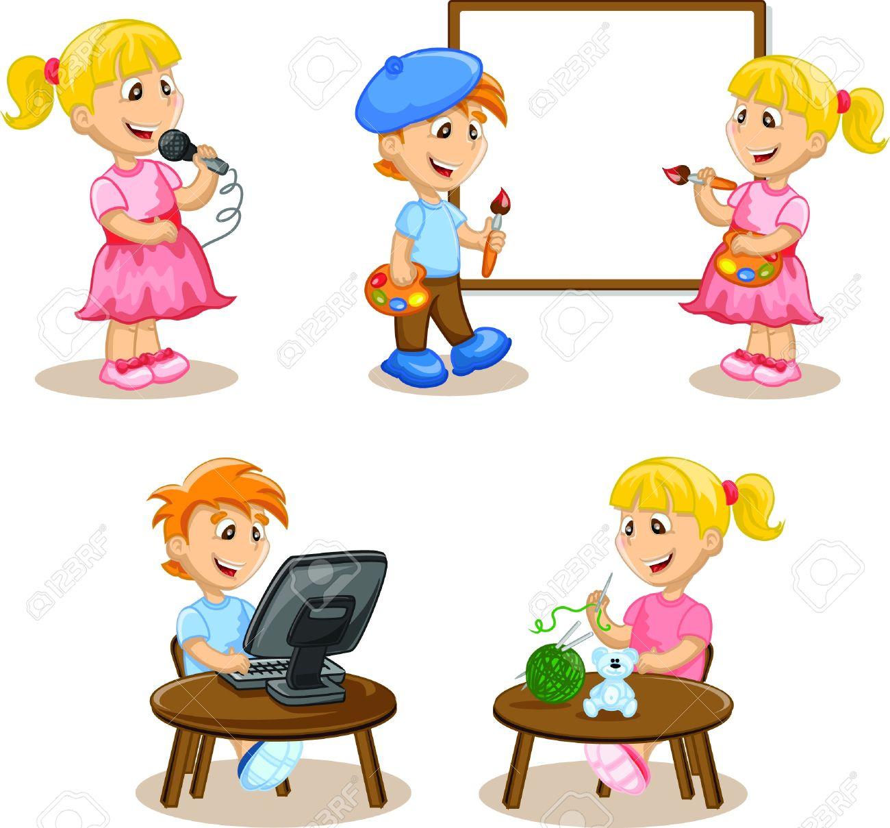 1300x1209 Child Clipart Hobby