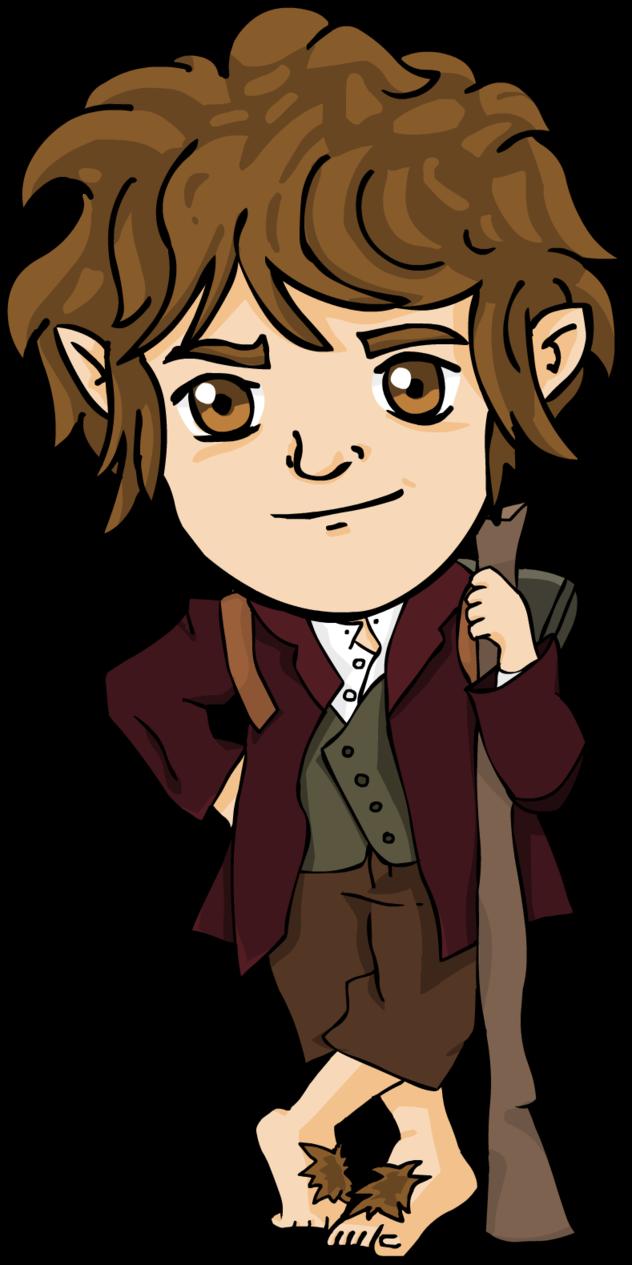 632x1265 Bilbo Chibi The Hobbit By Xiibi