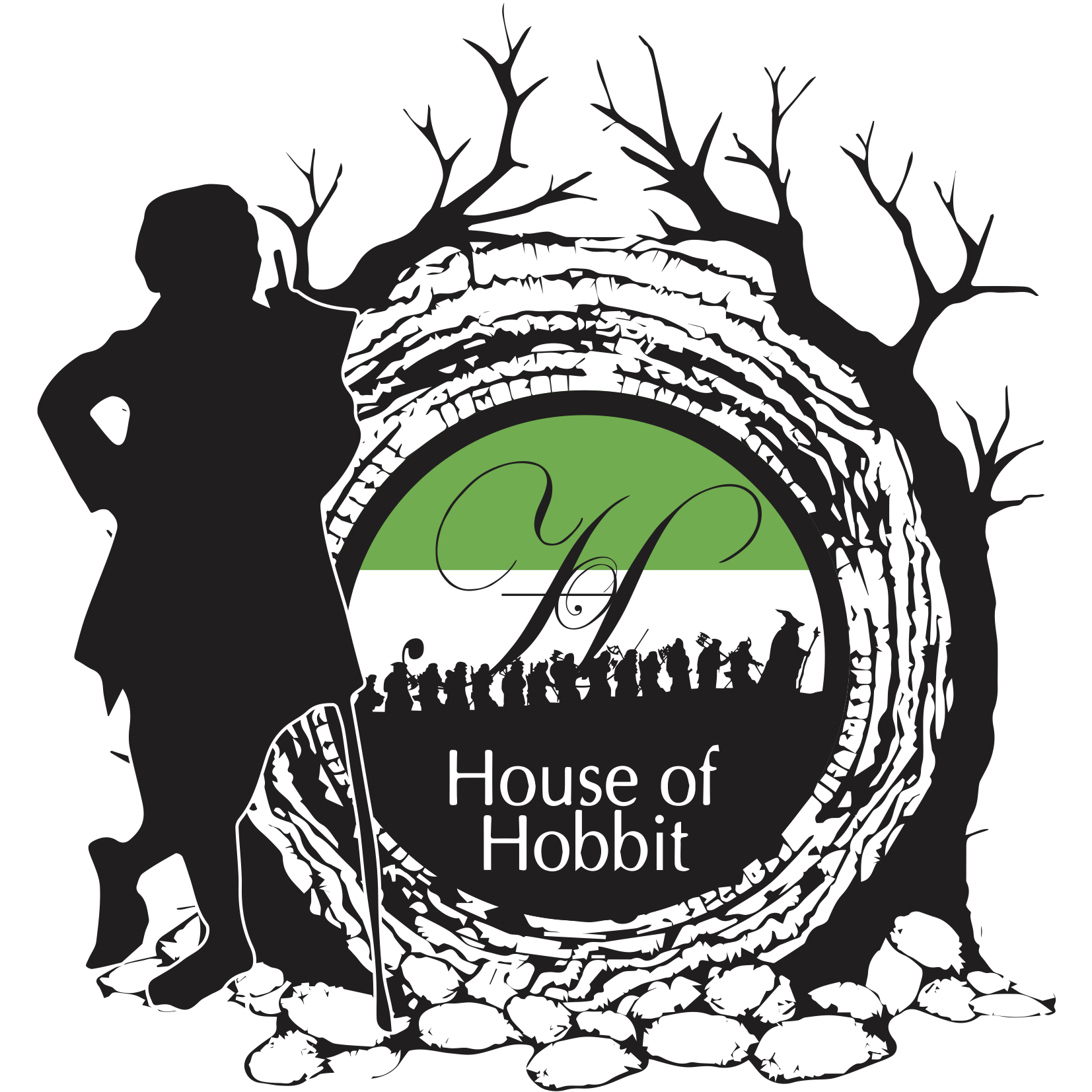 Collection of Hobbit clipart