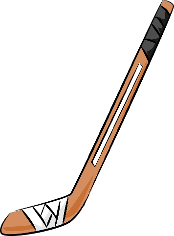 356x482 Hockey Stick Clip Art