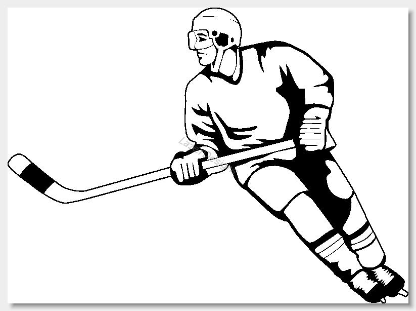 823x614 Hockey Clip Art Images Free Clipart Clipartix