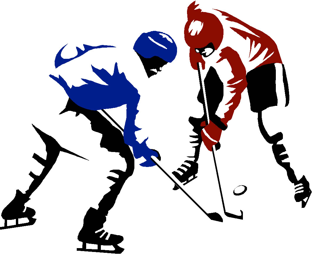 1061x864 Hockey clipart kid
