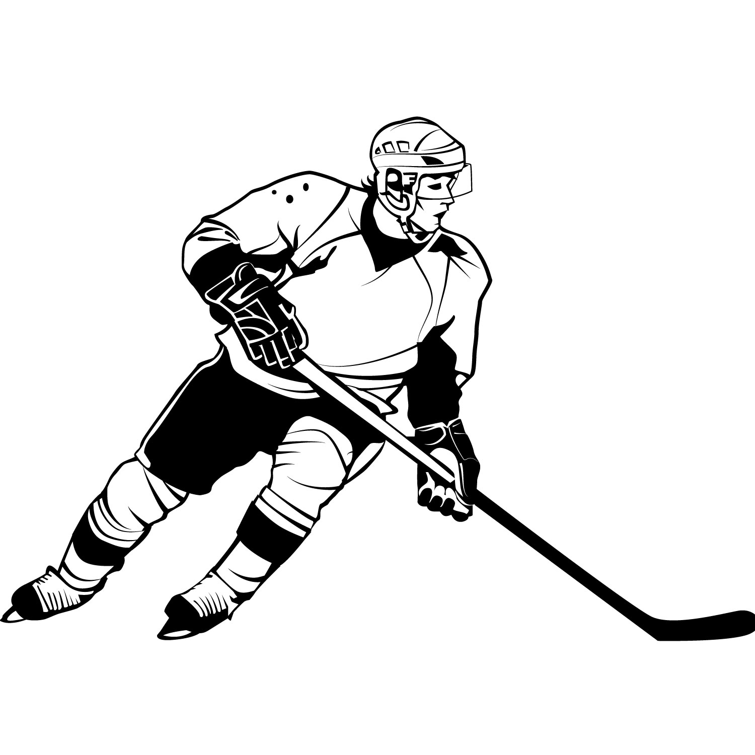 1500x1500 Hockey Clip Art Border Free Clipart Images