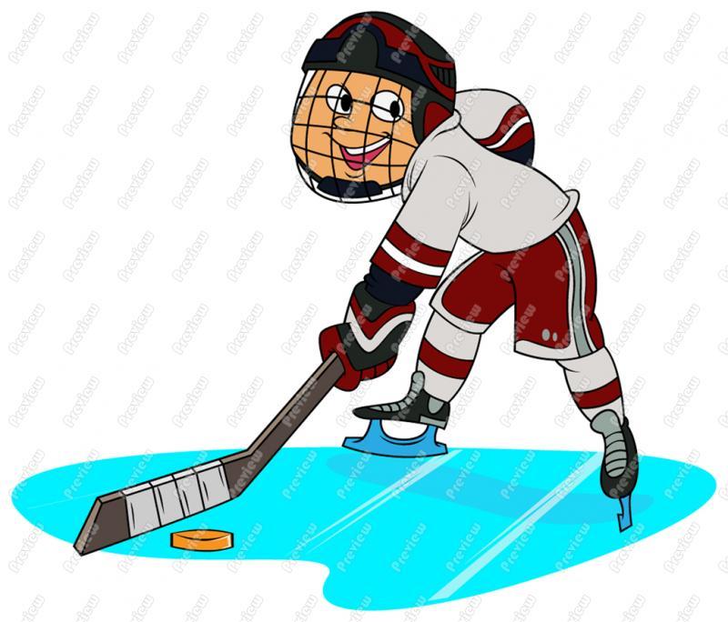 800x684 Boy Child Playing Hockey Clip Art