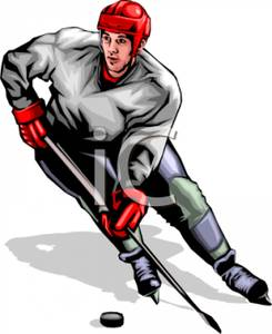 245x300 Hockey Player Clipart Free Clipart Images Image