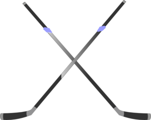 297x237 Double Hockey Stick Clip Art
