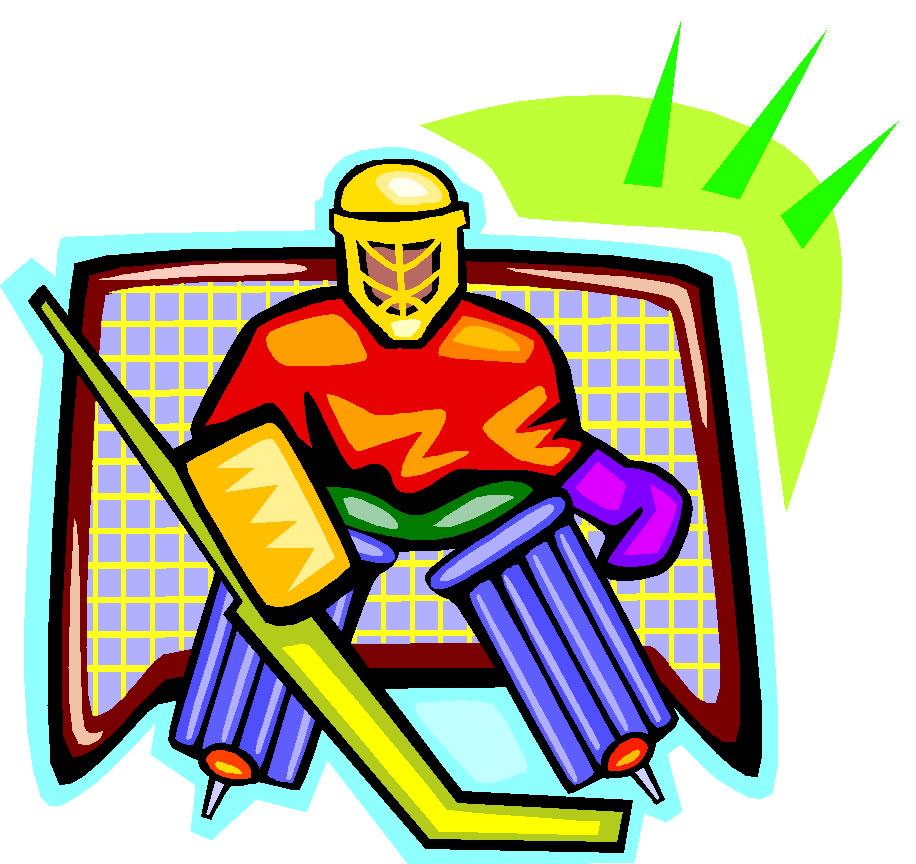 916x864 Hockey Goal Clipart