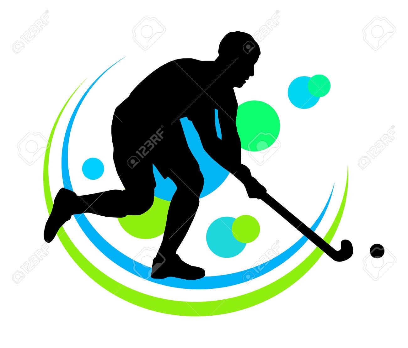 1300x1110 Hockey Player Clipart Free