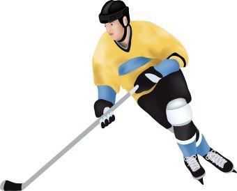 340x274 Hockey Clip Art Images Free Clipart Clipartix 3