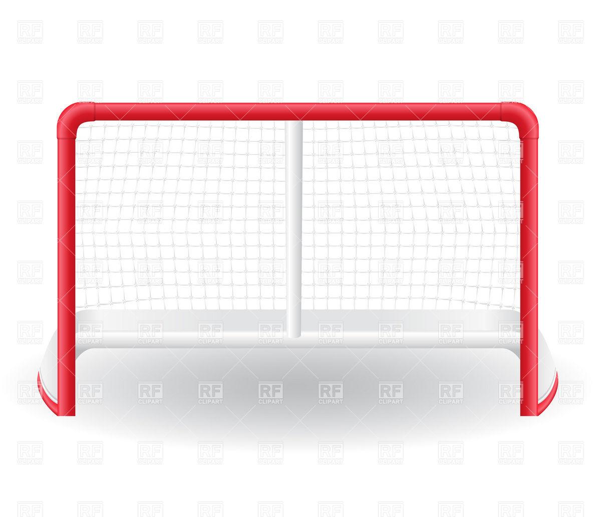 1200x1032 Ice Hockey Goal Royalty Free Vector Clip Art Image