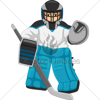 325x325 Hockey Goalie Gl Stock Images