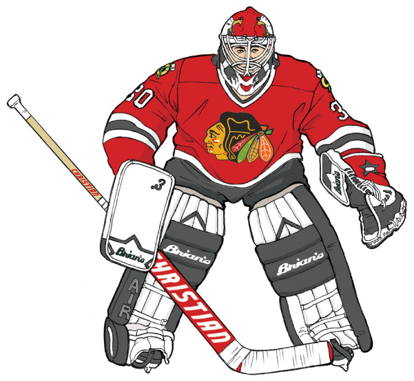 601x554 Hockey Goalies' Gear Through The Ages