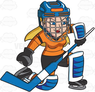 400x389 Hockey Clipart