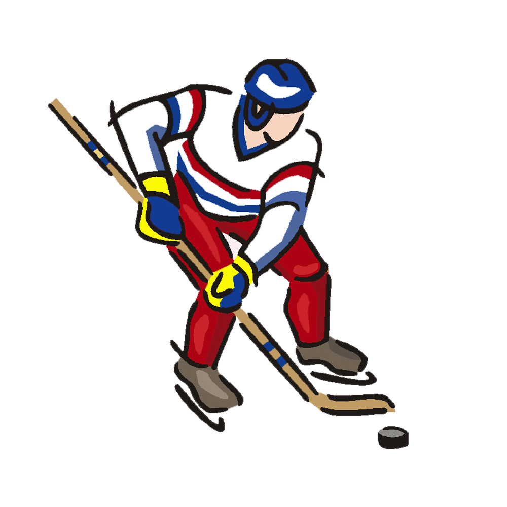 1000x1000 Hockey Player Door Hanger Mandys Moon Personalized Gifts