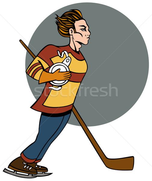 505x600 Hockey Player Stock Photos, Stock Images And Vectors Stockfresh