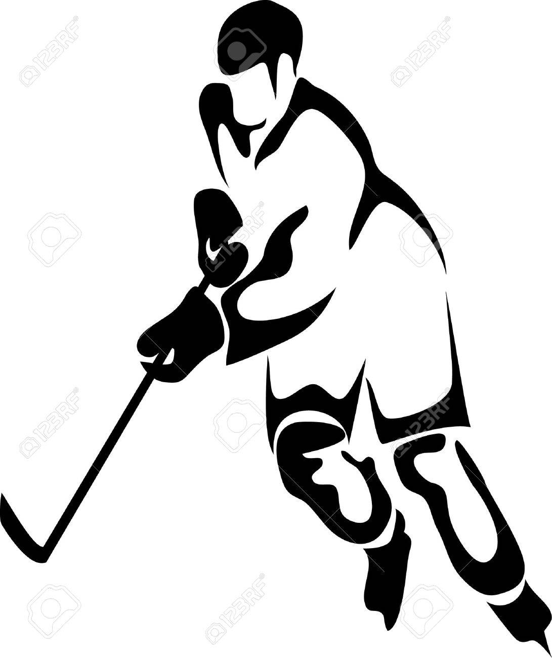 1091x1300 Images Hockey Player Clipart
