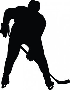 236x303 Hockey Silhouette Clipart