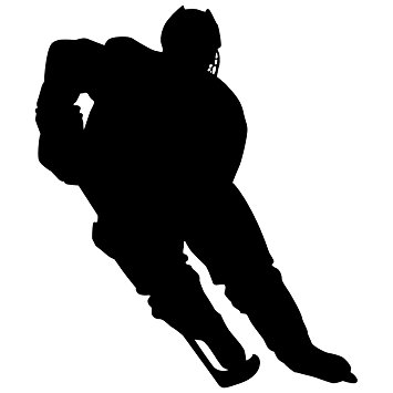 355x355 Hockey Wall Sticker Decal 1