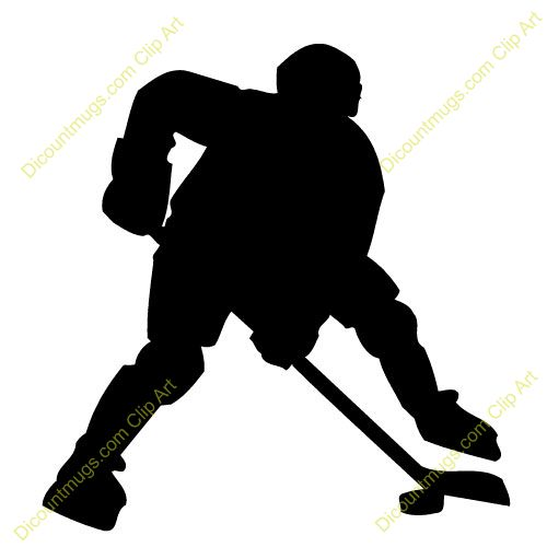 500x500 Clip Art Hockey Players Fighting Cliparts